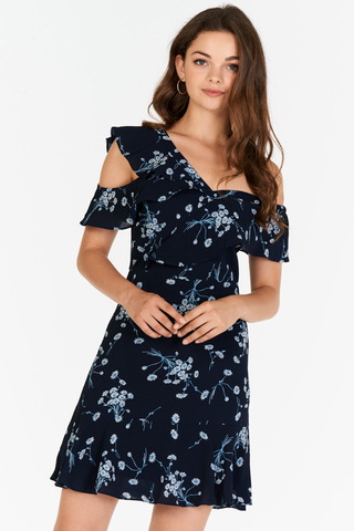 Corraine Floral Printed Dress