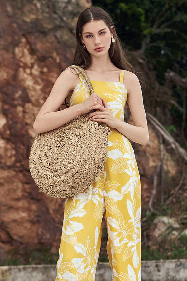 Maycey Weaved Straw Bag