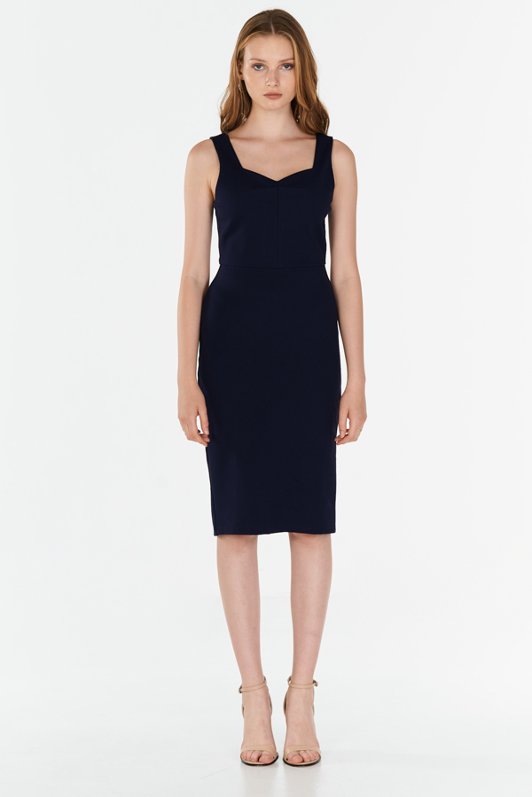 *W. By TCL* Kiely Dress in Navy