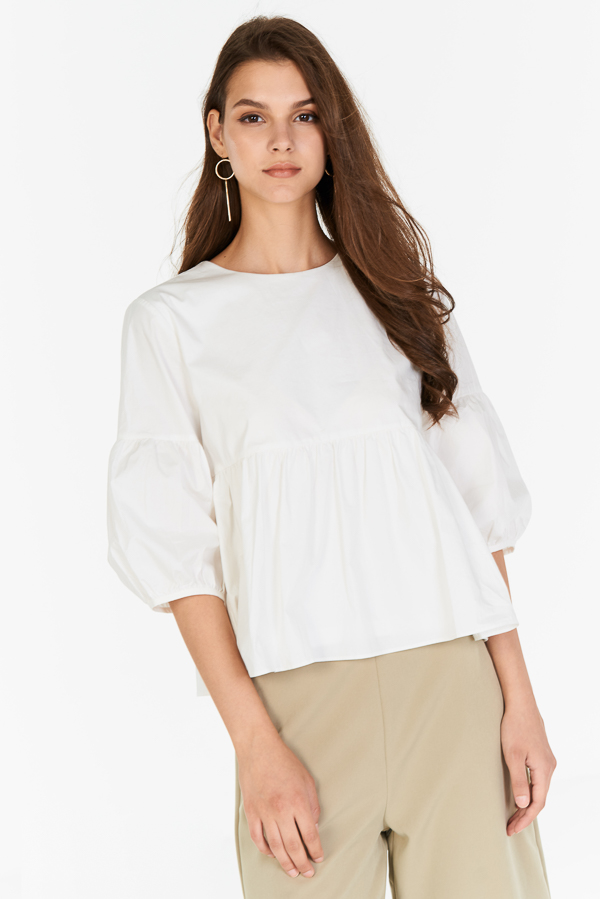 Adalia Top in White