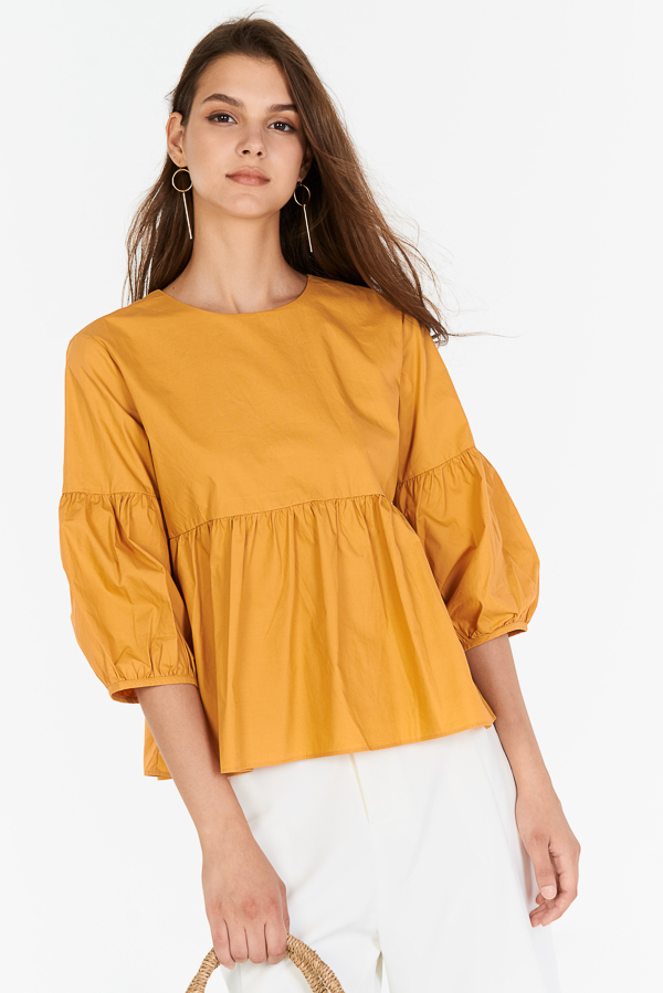 Adalia Top in Marigold