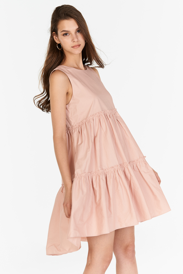 Lorene Dress in Pink