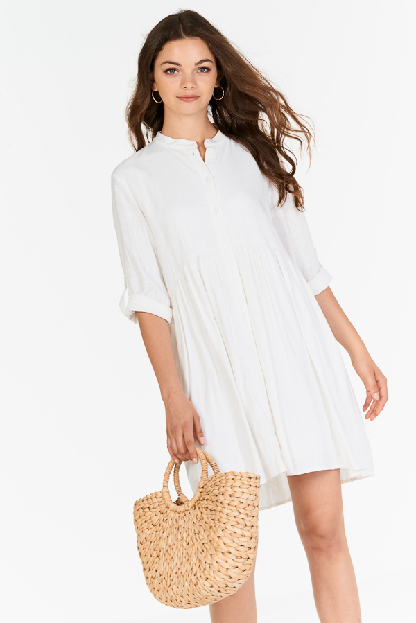Loise Dress in White