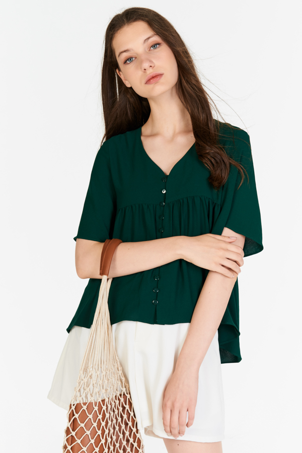 Estelle Top in Forest