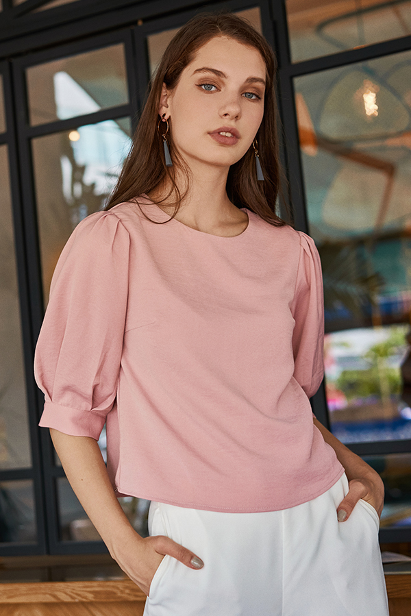 Florencia Top in Pink