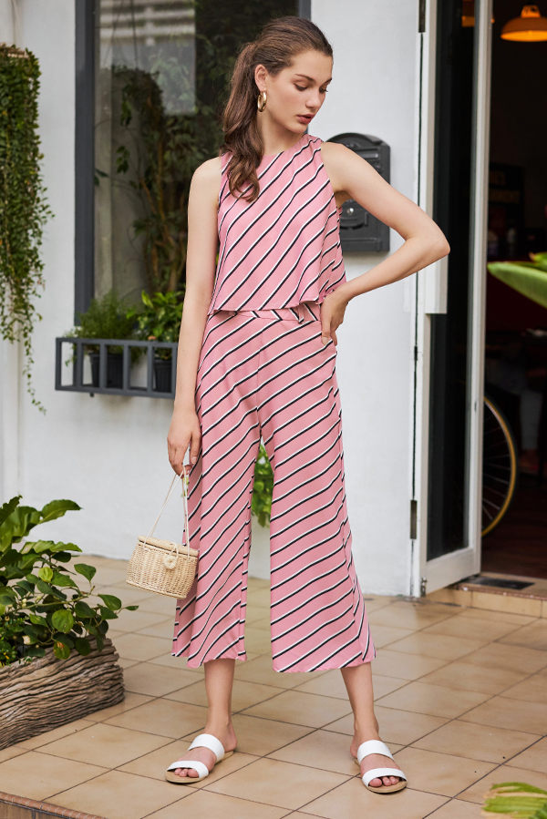 Erika Stripes Culottes