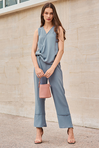 Cova Pants in Dusty Blue