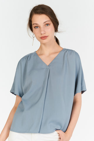 Rolaine Top in Periwinkle