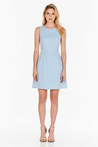 *W. By TCL* Jorine Dress in Blue
