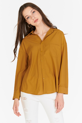 Analise Shirt in Mustard