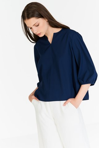 Daniella Top in Navy