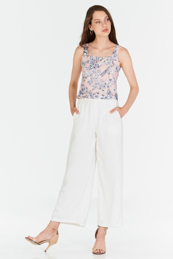 *Pre-order* Lorena Floral Printed Top in Pink