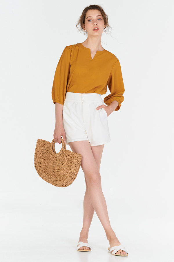 Daniella Top in Mustard