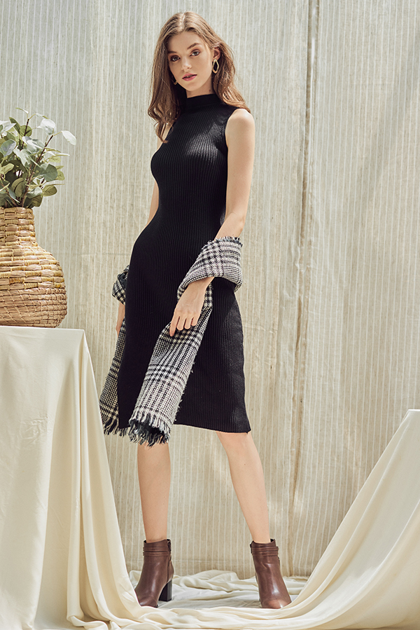 Tallulah Knitted Midi Dress