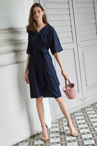 Maida Denim Dress
