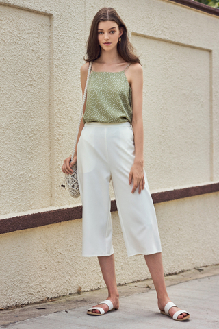 Kesie Culottes in White