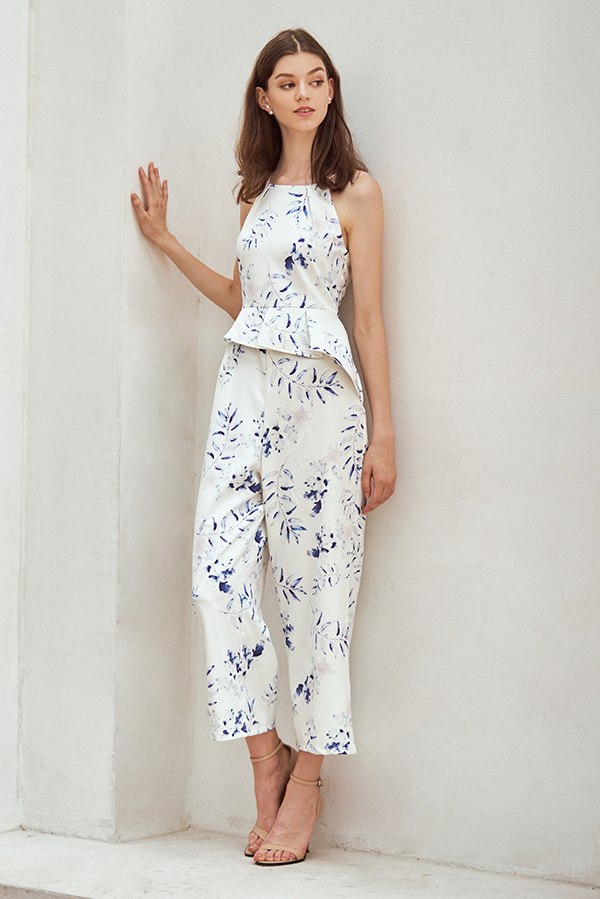 fe76e1cbe8b ... Isabella Floral Printed Jumpsuit. Hover your mouse to view bigger image  Double tap to zoom