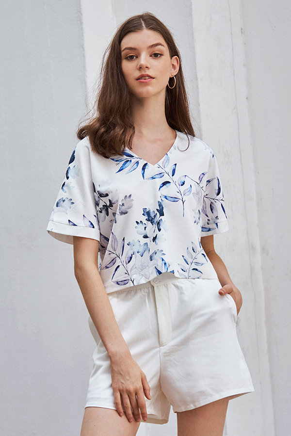 Isabella Floral Printed Top