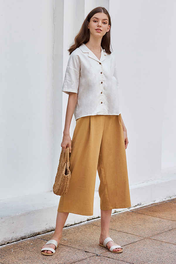 Merlane Culottes in Honey