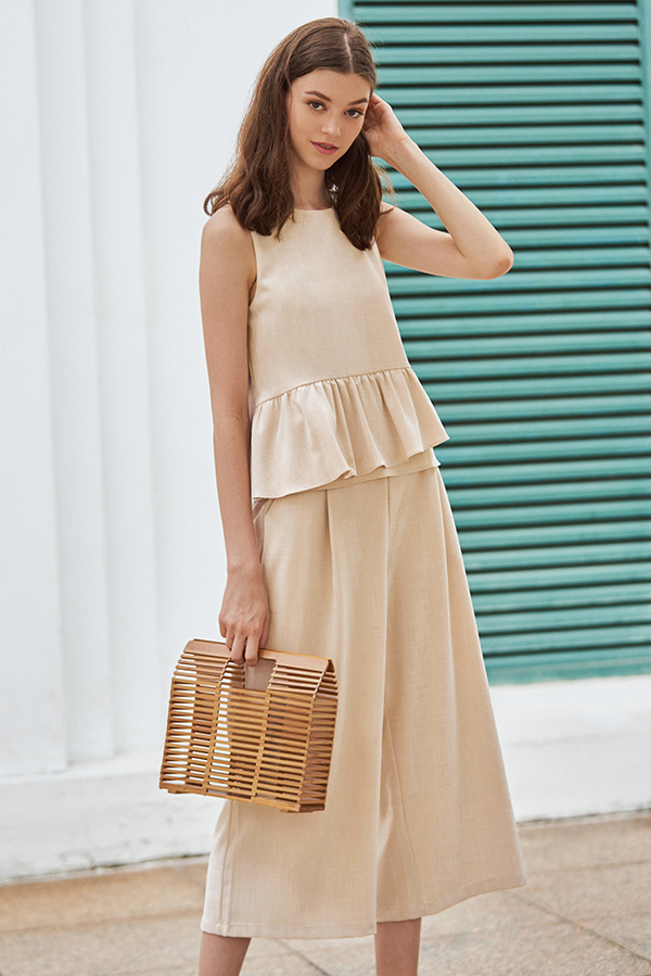 Merlane Culottes in Cream