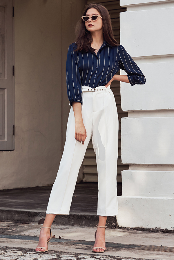 Reisan Pants in White