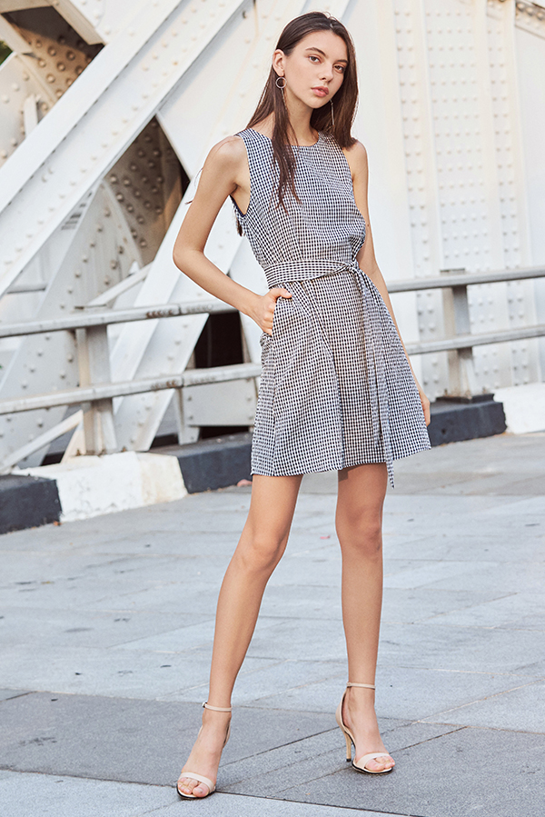 Reylin Gingham Dress