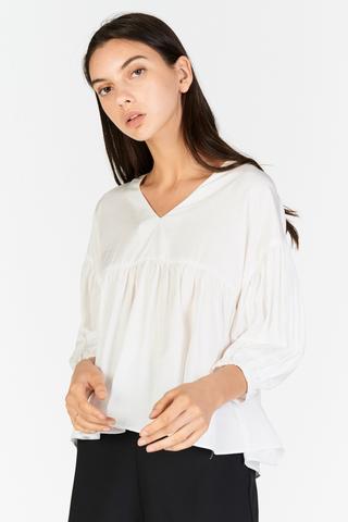 Talisha Top in White