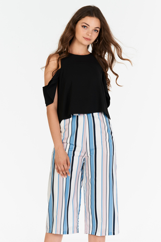 Gisele Stripes Culottes
