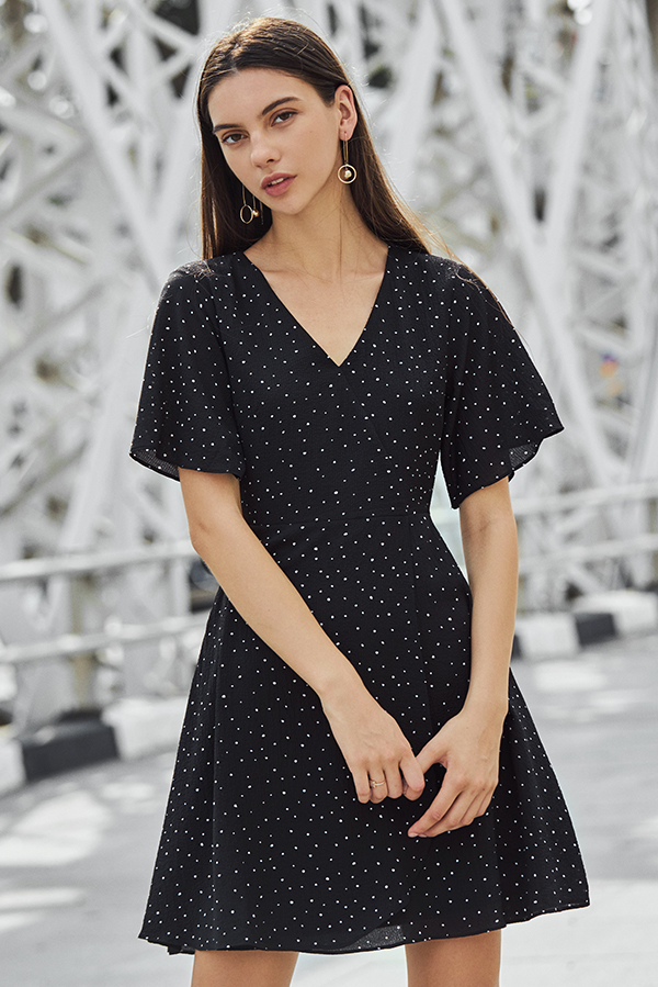 Malina Dotted Dress