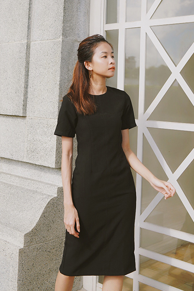 *W. By TCL* Evanis Dress in Black