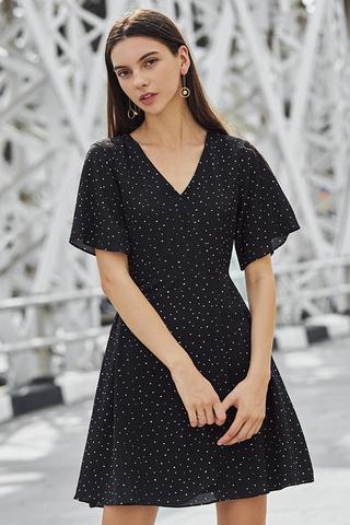 Malina Dotted Dress