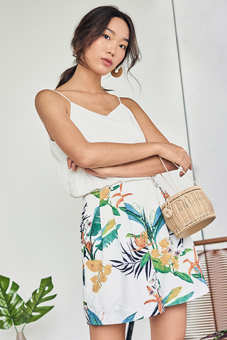 Corelia Tropical Printed Shorts
