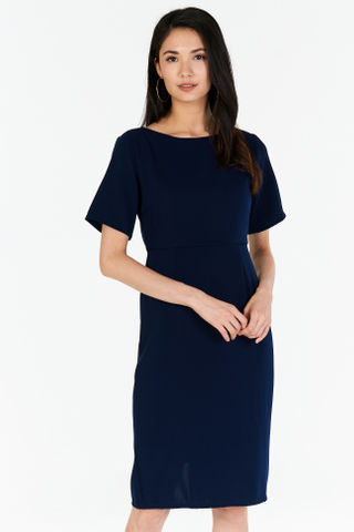 *W. By TCL* Suie Dress in Navy