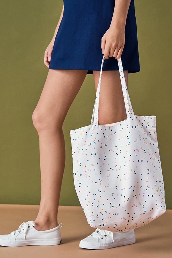 Rani Confetti Printed Tote Bag