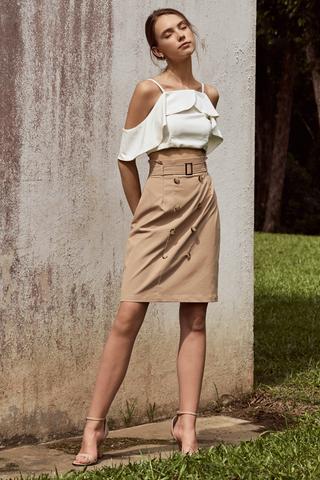 Carlene Trench Skirt