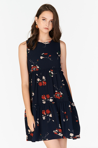 Arden Floral Printed Swing Dress