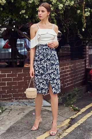 Elila Floral Printed Skirt