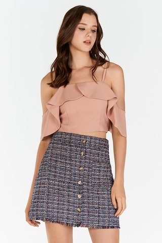 Colina Tweed Skirt
