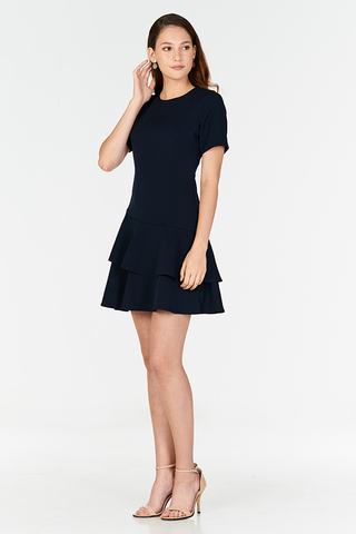 Sherrine Ruffled Hem Dress
