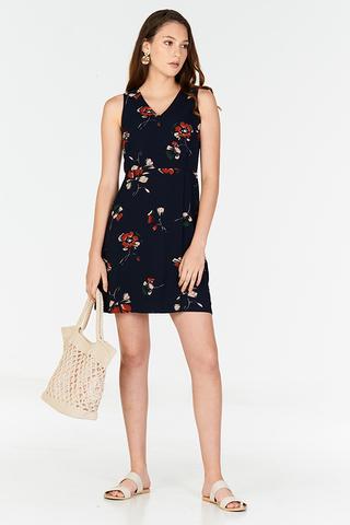 Arden Floral Printed Dress