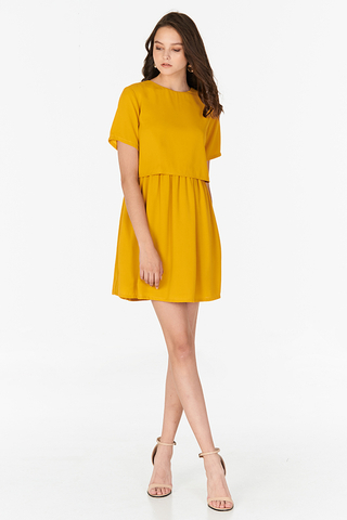Eunicia Dress in Marigold