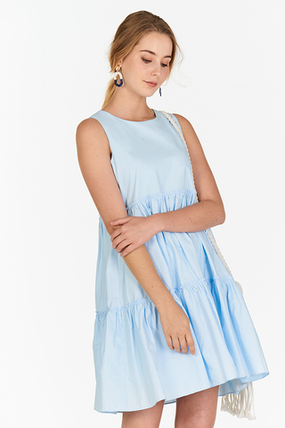 Lerene Dress in Powder Blue