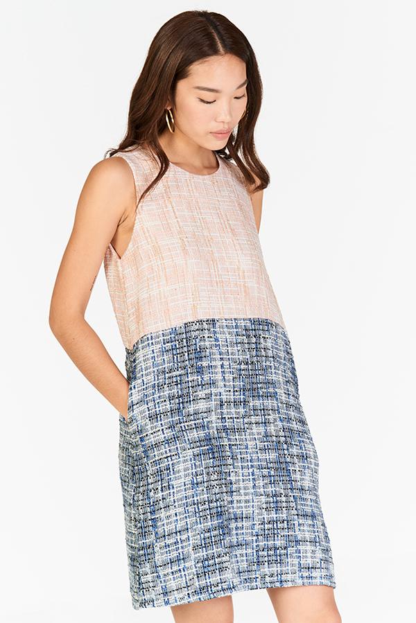 Tanisa Tweed Dress