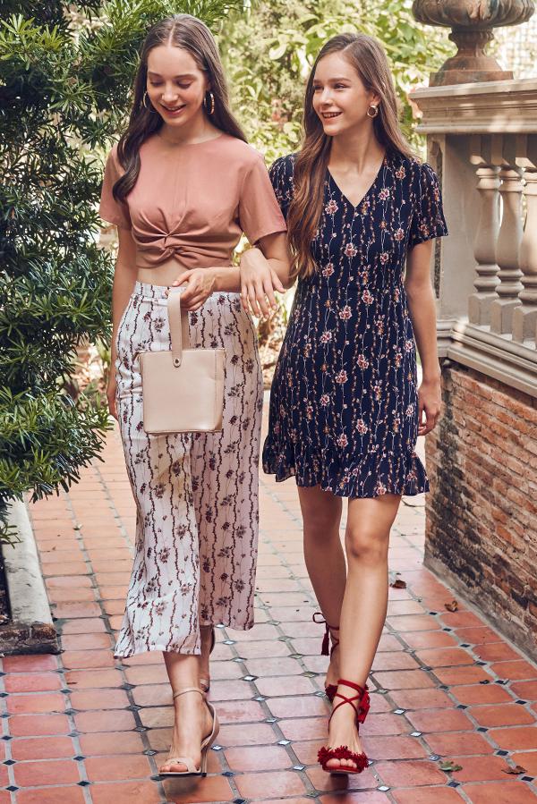 Palma Floral Printed Dress
