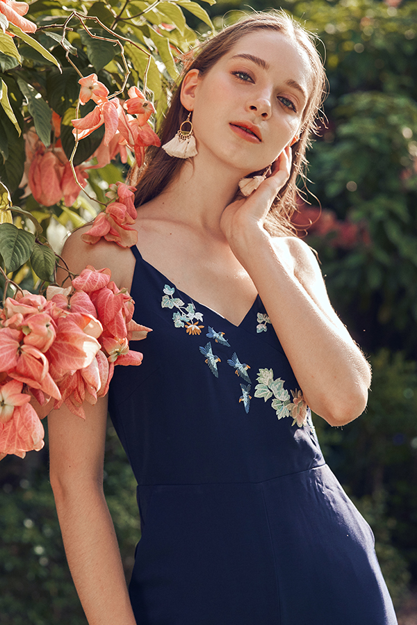 Cailin Embroidered Jumpsuit