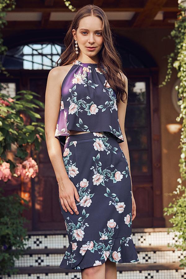 Vina Floral Printed Top