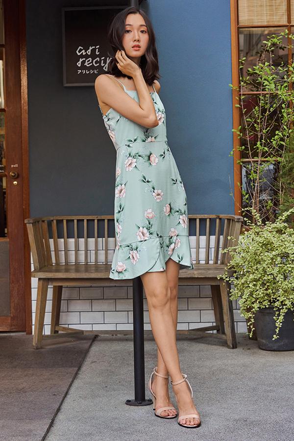 Reena Floral Printed Dress