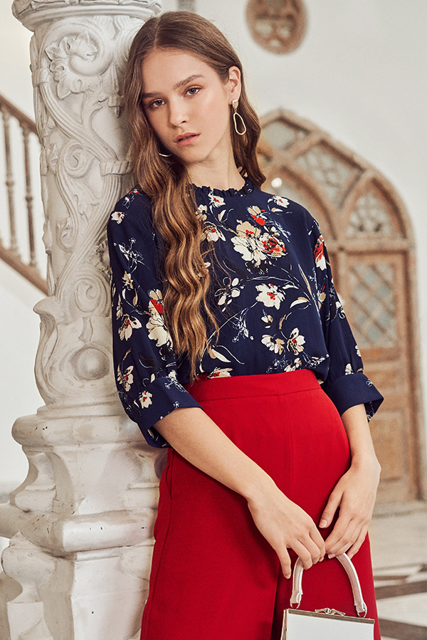 Anista Floral Printed Top