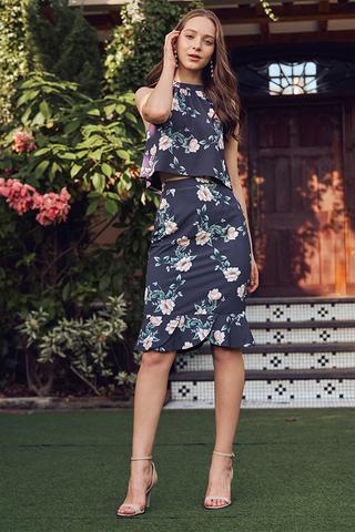 Vina Floral Printed Skirt