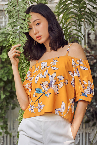 Carola Floral Printed Top
